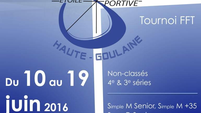 Participez au tournoi de Haute Goulaine